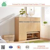 Les meubles en gros bon marché de chaussures Module en bois en bois moderne de Module de petit chaussent le Module avec la portée
