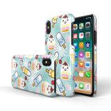 Kundenspezifischer Muster PC harter Telefon-Kasten für iPhone X