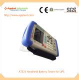 0.0001V에서 60.000V (AT525)에 전압 범위를 가진 건전지 검사자