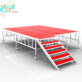Aluminiumlegierung Playwood Binder-Stadiums-Konzert-Stadium 4FT durch 4FT