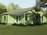 Casa prefabricada modificada para requisitos particulares del acero ligero