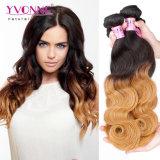Pelo ondulado coloreado nueva manera del pelo de Ombre del pelo de Yvonne