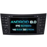 Automobile DVD del Android 8.0 di Octa-Memoria di Witson (memoria otto) per lo schermo della ROM IPS dello schermo di tocco della ROM 1080P del codice categoria W211 4G di Mercedes-Benz E 32GB