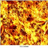 Hot Sale Flame Design Film hydrographique no K003MD048b