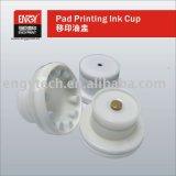 ケントのパッドプリンターのための陶磁器のリングが付いている密封されたインクコップ