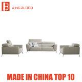 居間のためのイタリアの現代国の白革のソファーの家具