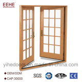 Алюминий ванная комната из закаленного стекла двери Китай поставщика