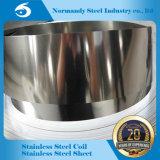 Fabricante de qualidade elevada 409 Hr/Cr Tira de aço inoxidável