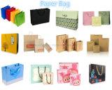 Высокое качество пользовательских рекламный пакет магазинов бумажный мешок печать