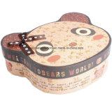 Embalaje del caramelo del rectángulo/rectángulo irregulares de la dimensión de una variable del oso para los regalos de la Navidad