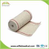 Fasciatura medica dell'elastico del Crepe del cotone del pronto soccorso