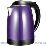 Qualitäts-purpurroter Farben-doppelte Schicht-Edelstahl-elektrischer Kessel