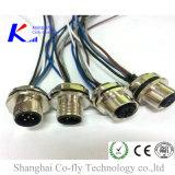 2, 3, 4, 5, 6, 8, 12 разъем кодирвоания провода M12 a/B/D для держателя панели