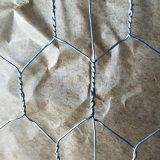 Tela metálica hexagonal galvanizada de la INMERSIÓN caliente