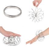 2018 поток звонков браслет из нержавеющей стали Волшебное кольцо вращается декомпрессии игрушки