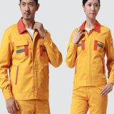 Длинний рабочий-строитель хлопка Workwear втулки одевает форма инженера работая