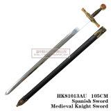 Espadas da decoração do rei Arthur Espada Medieval Espada 105cm HK81013au