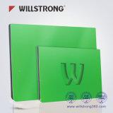 두 배 순수한 백색 표시 널 위원회 Foldable Willstrong 알루미늄 복합 재료
