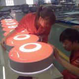 Afficheur LED 3D de la publicité extérieure annonçant le cadre léger