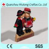 Cadeaux de gosses de figurines de résine de touristes de postes de souvenirs de l'Allemagne de résine mini