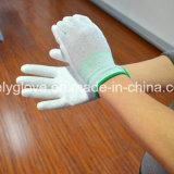 PU-überzogene Bildschirm-Handschuh ESD-Palmen-Nylon-Handschuhe