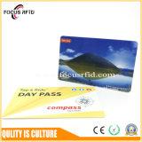 Contrôle d'accès et carte mobile d'IDENTIFICATION RF de paiement avec la taille différente