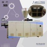 突き出る生産の押出機を作るプラスチックPVC PE PP WPCの木製のプラスチック合成のWindowsかDeckingまたは天井または土台板またはコンクリートまたは建物のプロフィールの放出