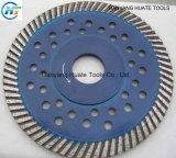 Lâmina de serra de diamante para borda de corte da lâmina de corte circular Blade segmentada do Turbo