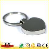 Barato y de forma especial de alta calidad de aleación de zinc Llavero de metal