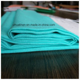 Colore solido del tessuto viscoso di tela per gli indumenti di modo