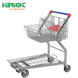 Mittlere Aufgaben-faltbare Supermarkt-Lager-Handlaufkatze
