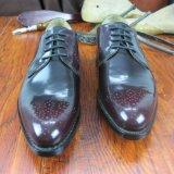 Итальянские импортированные кожаный ботинки людей от поставщика Alibaba золотистого