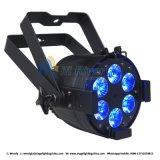 Indicatore luminoso di PARITÀ di RGBW 4 In1 6X12W LED