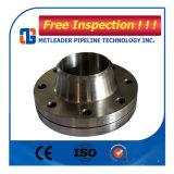 Borde de acero ASME B16.5 Wn 150# RF