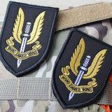 Diseño personalizado de tejido de alta calidad en hierro bordado del logotipo coche parche