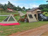 Tente de dessus de toit, toit de tente campante, tente molle de dessus de toit d'interpréteur de commandes interactif