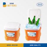 Mini refroidisseur de pêche de la case 10 litre pour l'isolement de la température
