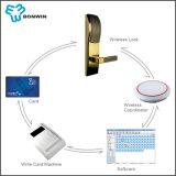 Замок Keycard двери гостиницы он-лайн контроль толковейший на низкой цене