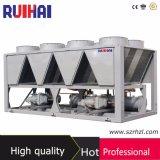 Alto refrigerador refrescado del tornillo del compresor de Bitzer aire eficiente