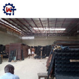 Wanteのブランドの石のナイジェリア/バングラデシュ/ケニヤで普及した上塗を施してある鋼鉄屋根瓦