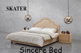 미국식 침실 가구 직물 침대