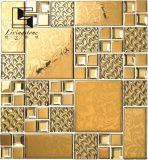 De gouden en Zilveren Tegel van het Mozaïek van het Staal voor Hotel