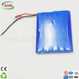 Batteria di litio dell'OEM 11.1V 10.4ah del pacchetto della batteria dell'indicatore luminoso di via del LED