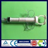 Luer 자전 남성 자물쇠를 가진 관상 동맥 통제 주사통 및 반지 플런저 및 그립