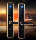 Nouveau design de mode d'empreintes digitales de serrure de porte coulissante pour le Bureau Commercial Appartement de luxe