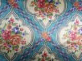 2017 a estampé le tissu élégant de fleur de la géométrie pour le sofa, capitonnage