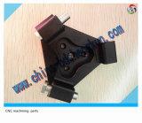 デジタルカメラベースを機械で造る精密CNC