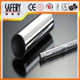 La alta calidad de China 304 316 soldó el tubo de acero inoxidable