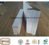 Projetos de madeira de madeira dos frames de porta do painel de parede