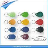 A etiqueta da chave de RFID para controle de acesso